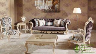 kursi tamu sofa shameran desain klasik