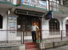 Picture of Wangdue Tsewang the owner of Hotell Green
