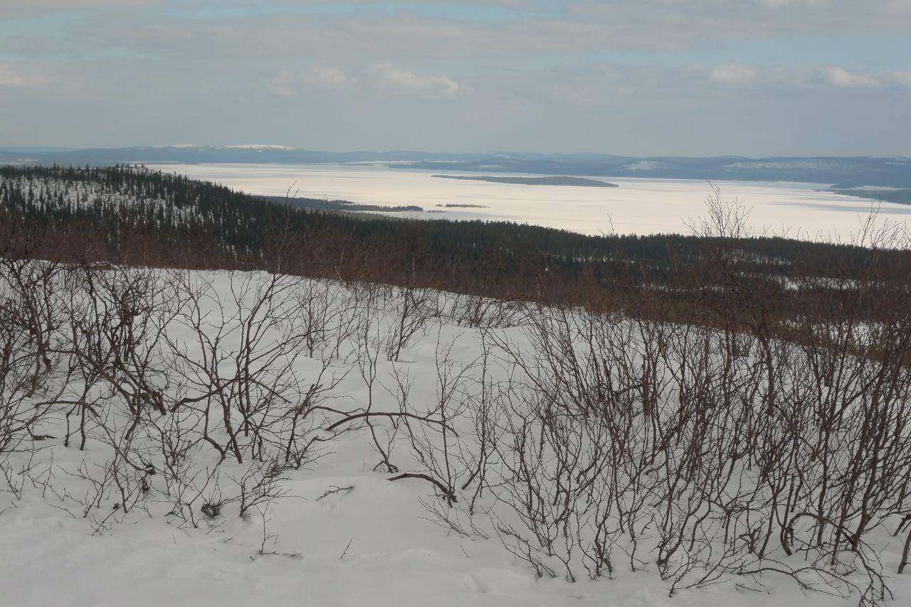 Mot norr på Alep Nabrretjåhkkå