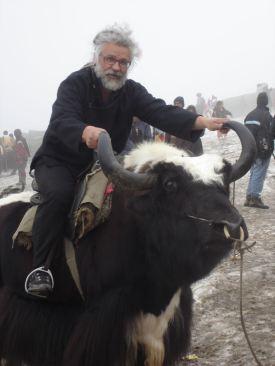 Roland on a Yak