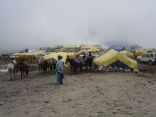 A bazar in Rohtang la