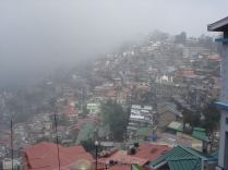 A foggy morning in Shimla