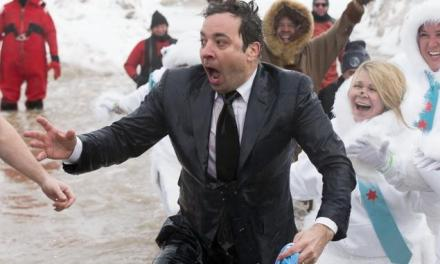 Jimmy Fallon Takes the Plunge!