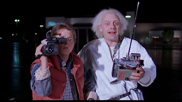 Back to the Future Doc Brown and Marty Mcfly