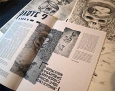 Amor, Mort i Llibertat 1 i 2 al nº4 de la revista Mozaika.