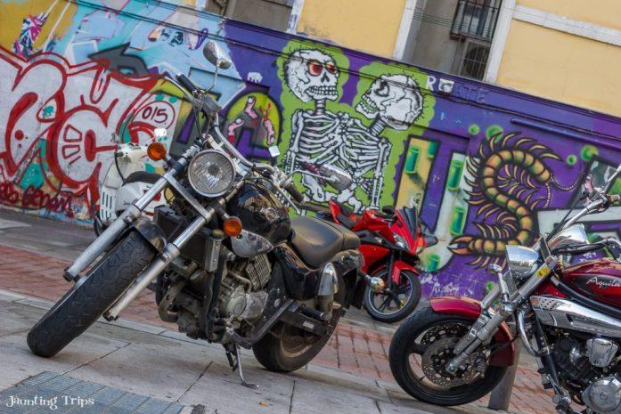 street-art-bikes