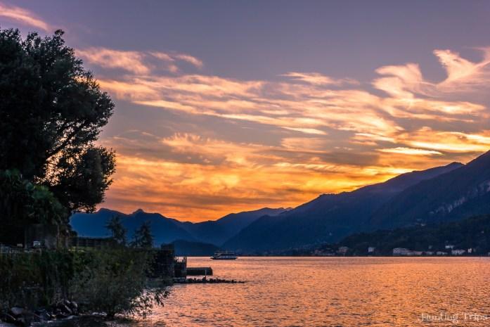 como-lake-italy-sunset