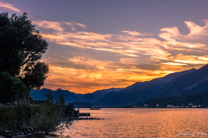 como-lake-italy-sunset