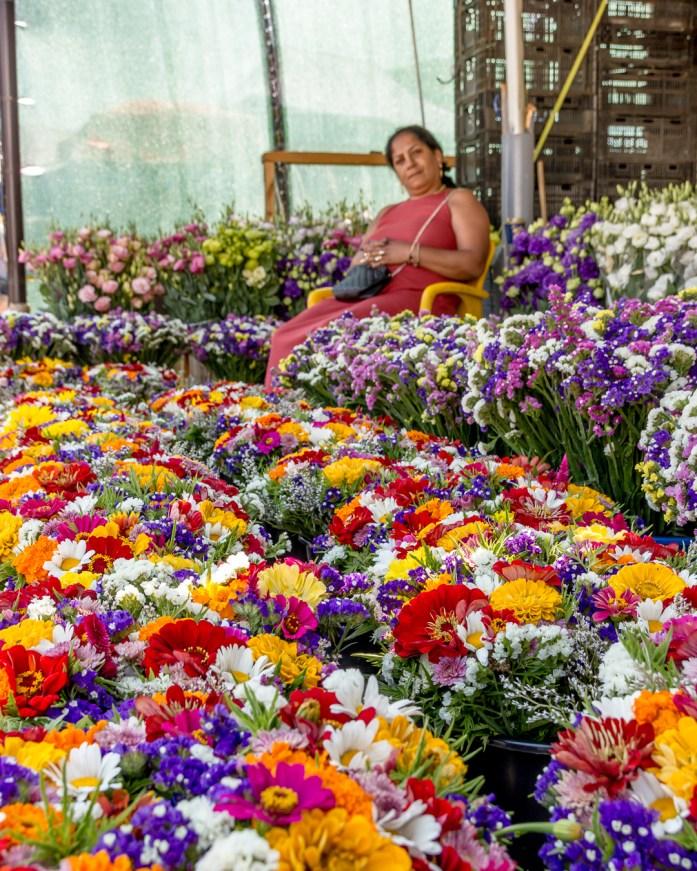 Rroma flower market