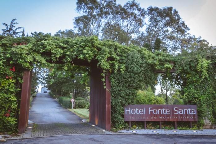 Hotel Fonte Santa Entrance