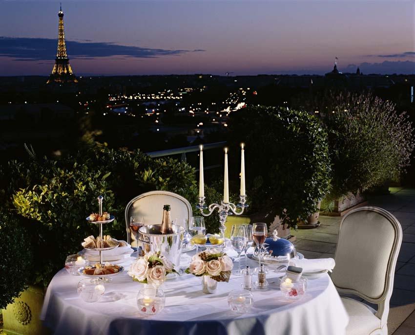 Paris Hotels - Le Meurice Landmark