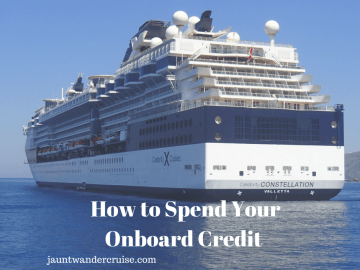 How to spend your onboard credit