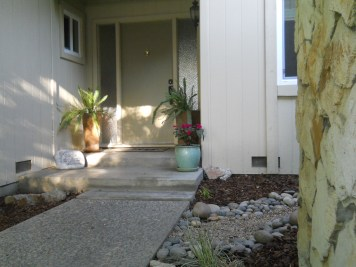 Front porch of the home we sold