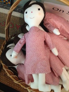 They sew dolls.