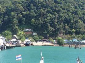 Arriving on Koh Chang