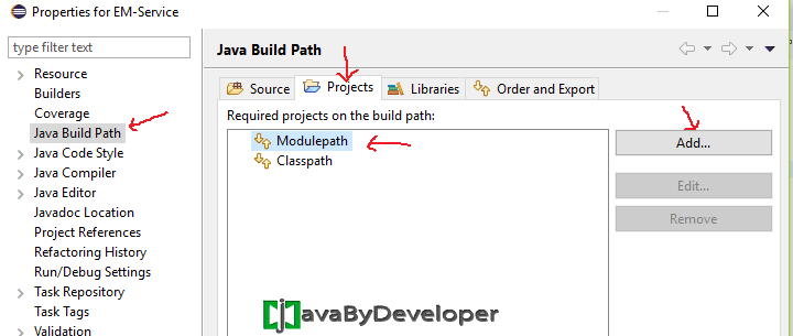 Eclipse Module Project Java 9 - Step12