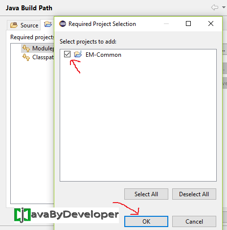 Eclipse Module Project Java 9 - Step13