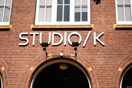 Gevel Studio/K op het Timorplein in het Javakwartier