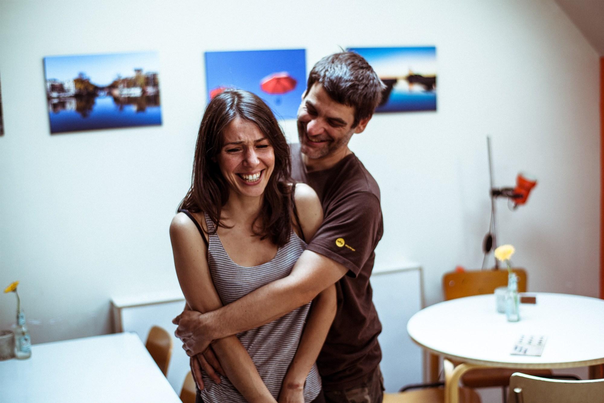 Eigenaars Matthias en Samantha van La Fucina