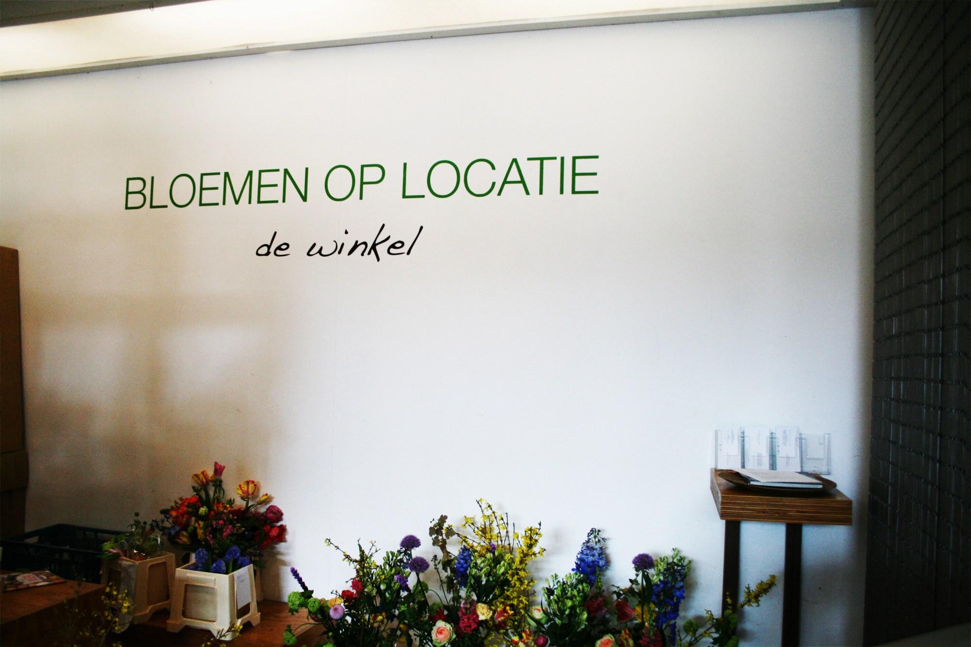 In bloemenwinkel Bloemen op Locatie op het Javaplein in het Javakwartier