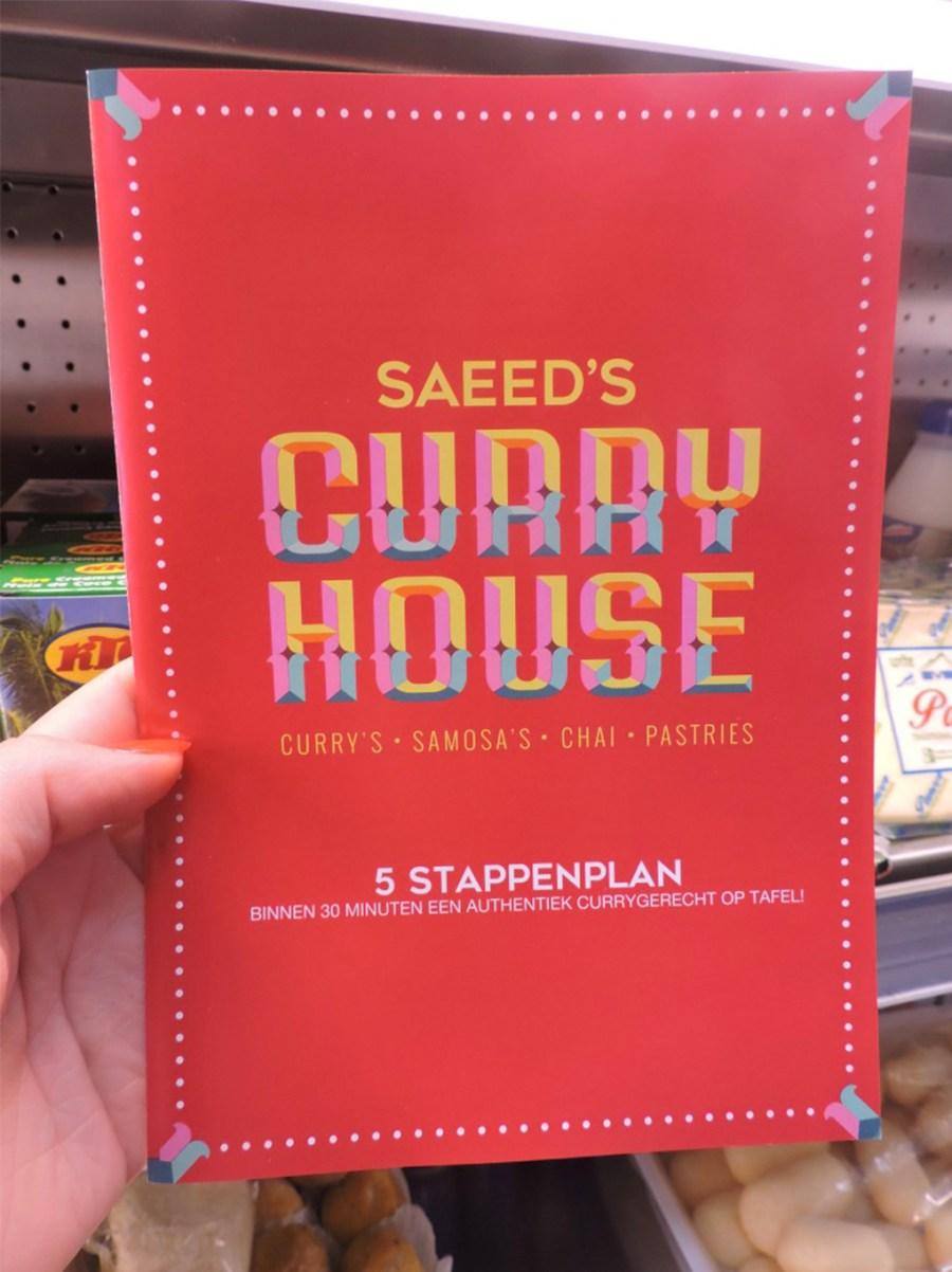 Curry-stappenplan van Saeed's Curry House in de Javastraat