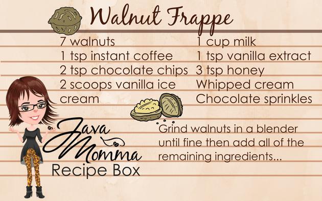 Walnut Frappe recipe