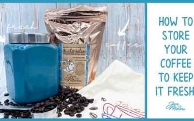 Best coffee bean storage tips to keep coffee fresh