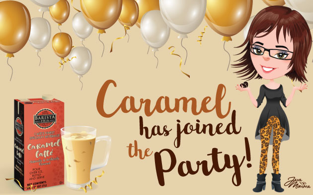 Caramel has joined the party!