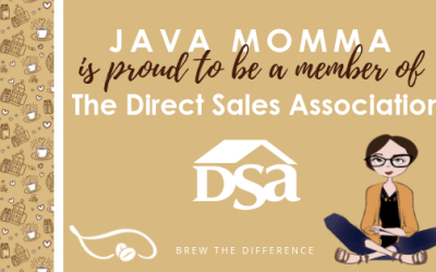 Java Momma is Proud to be a Member of the Direct Selling Association!