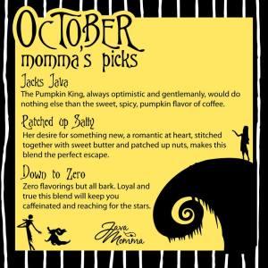 October Momma's Picks