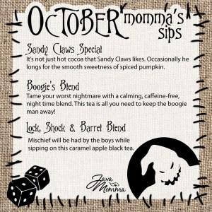 October Momma's Sips