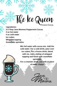 Ice Queen Frozen Cocoa
