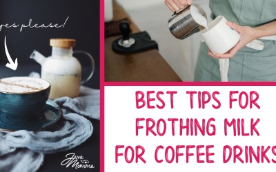 Best Tips for Frothing or Texturing Milk for Coffee Drinks