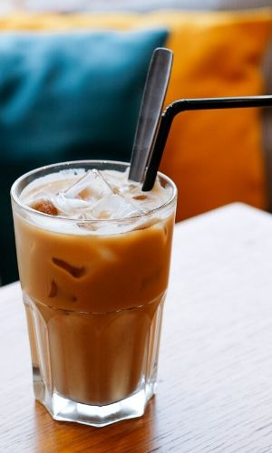 patriotic coffee drinks red white and true iced latte