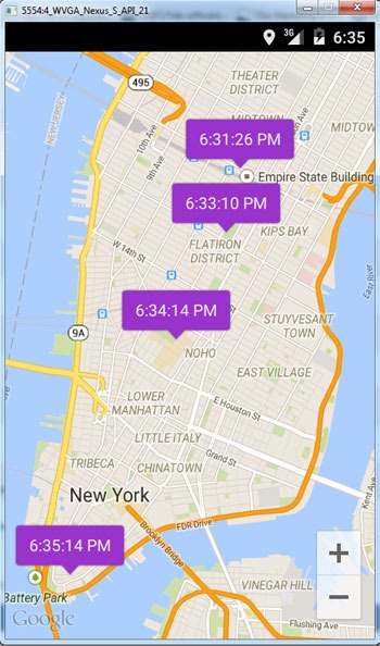 Google Maps Package Tracking : google, package, tracking, Android, Location, Tracker, Google, Javapapers