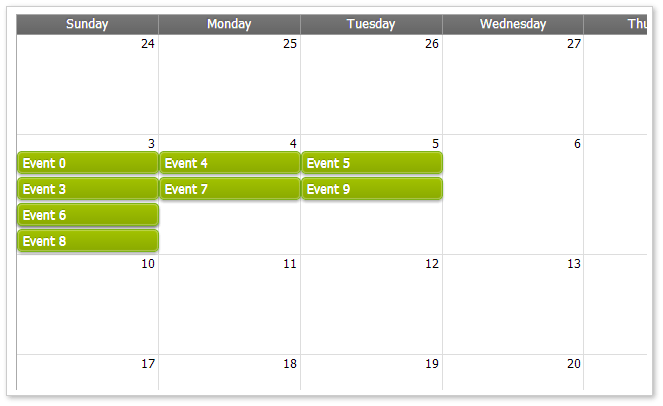 Create Calendar Jquery | Birthday Calendar Website