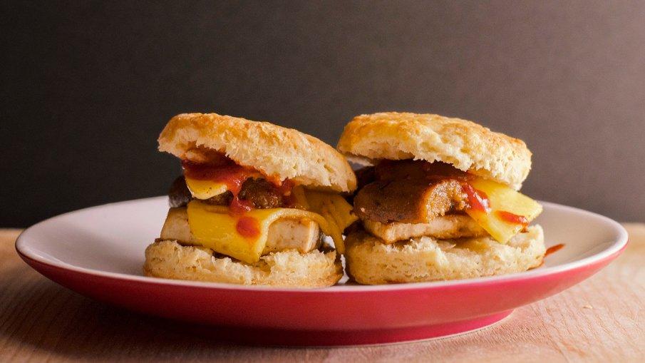 Vegan Hangover Sandwich