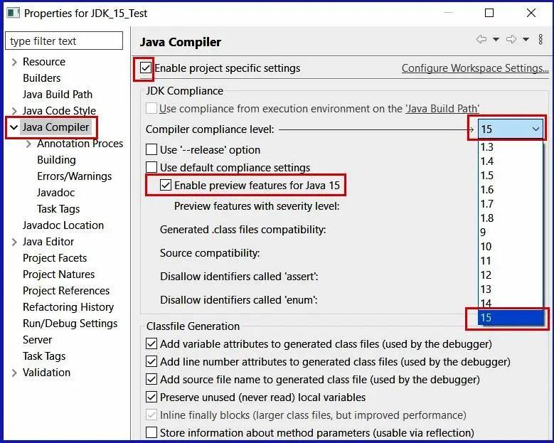 Eclipse 2020 Java