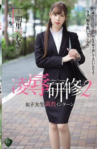 Insult Training 2 Female College Life Training Internship Akari Tsurugi