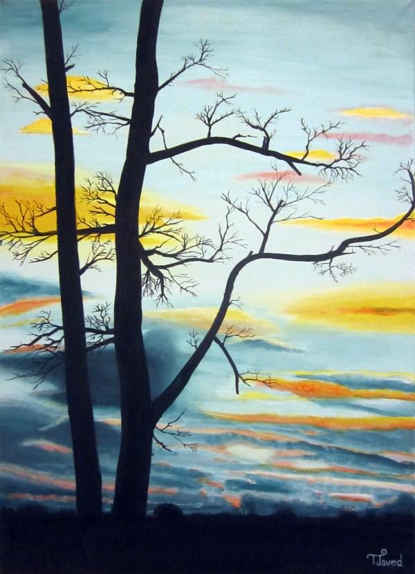 Simple Watercolor Nature Paintings