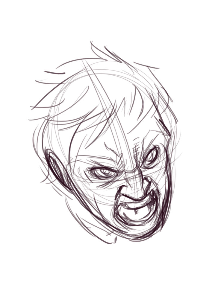 How to draw Screaming Faces  A Tutorial  Javi Can Draw