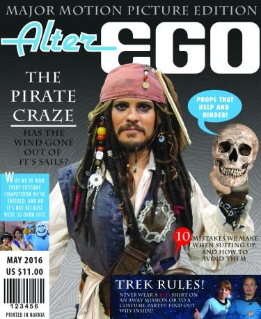 Alter Ego magazine Cover