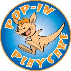 Pop in Playcare Logo