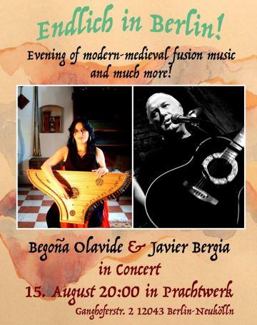Begoña Olavide & Javier Bergia……..directo.
