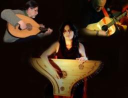 PAX ET BONUM PER MUSICAM – MUDÉJAR ENSEMBLE  TRÍO – (Hiszpania) – Begoña Olavide – śpiew, psałterium Javier Bergia– śpiew, gitara, cytra i perkusja Ramiro Amusategui– lutnia arabska