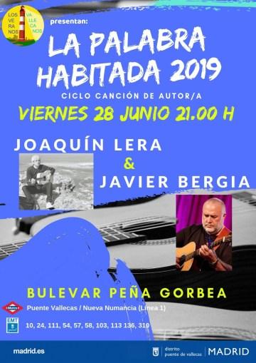 La Palabra Habitada   Joaquín Lera &  Javier Bergia
