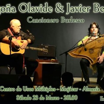 "Javier Bergia & Begoña Olavide – ""Cancionero Burlesco"""