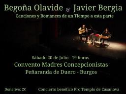 """Olavide & Bergia  """" Canciones y Romances de un Tiempo a esta Parte"""""""