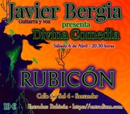 Javier Bergia – Anchoa's Tour 2019 – Divina Comedia.