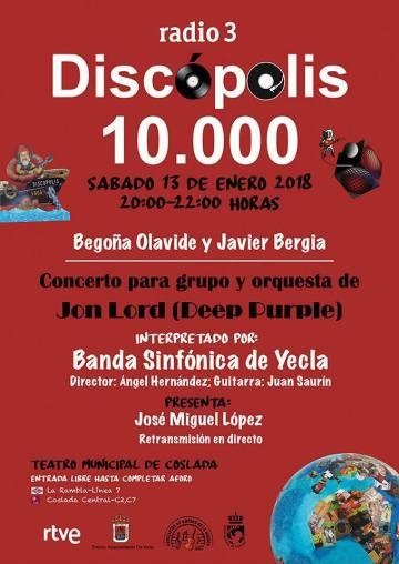 Discópolis 10.000   Begoña Olavide & Javier Bergia  en concierto